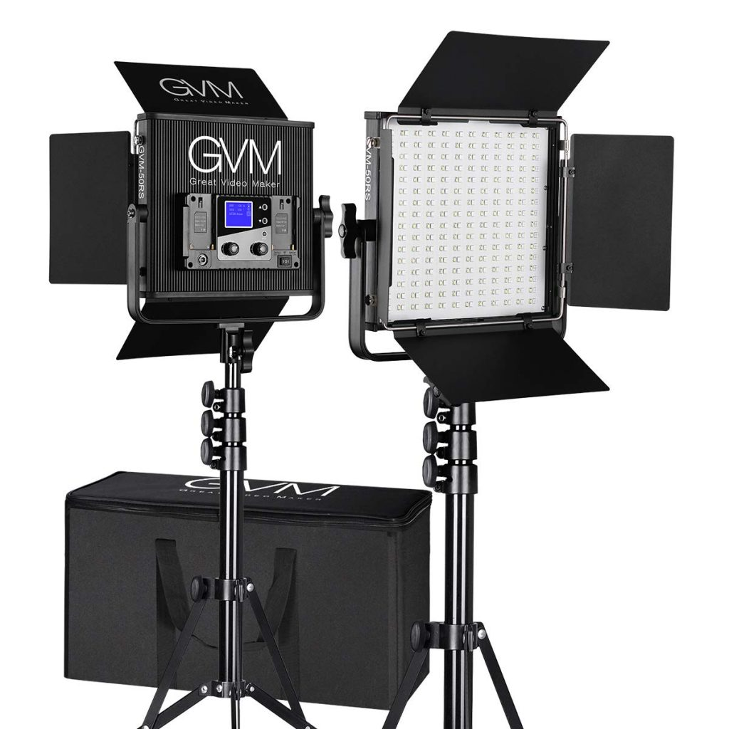 on camera lighting for video