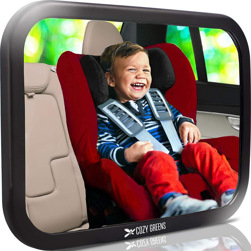COZY GREENS Baby Car Mirror Most Stable