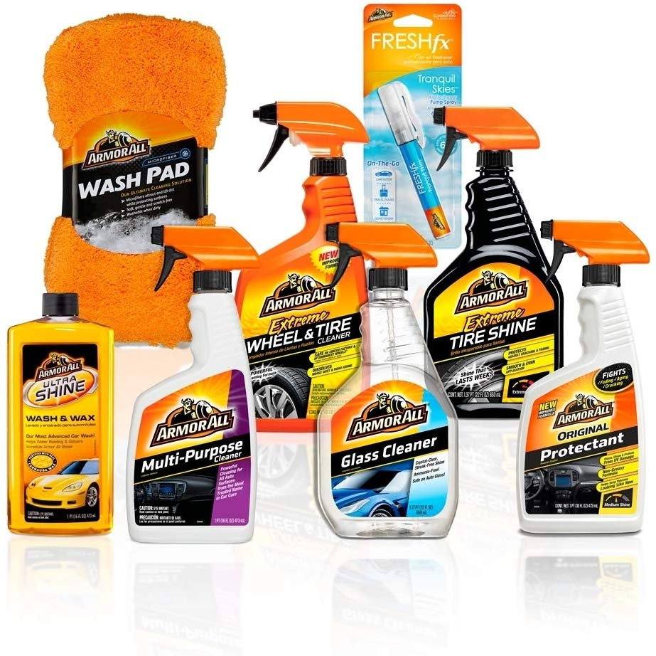Armor All Premier Car Care Kit And Car Waxing Kits