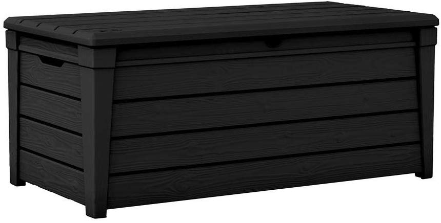 Pool Deck Storage Box and Bench Outdoor Storage Benches
