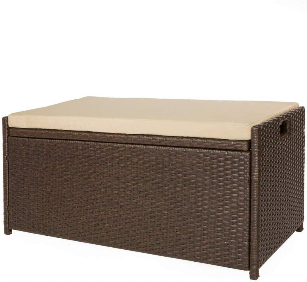 Victoria Young Outdoor Storage Benches