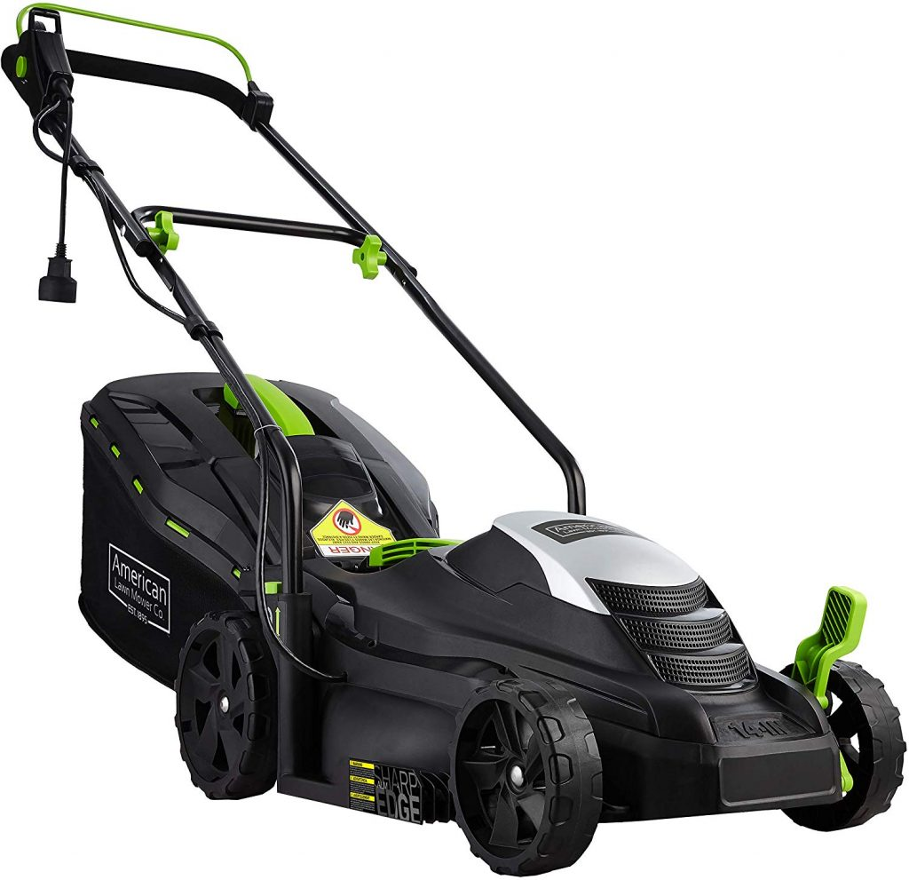 Corded Electric Walk Behind Lawn Mowers