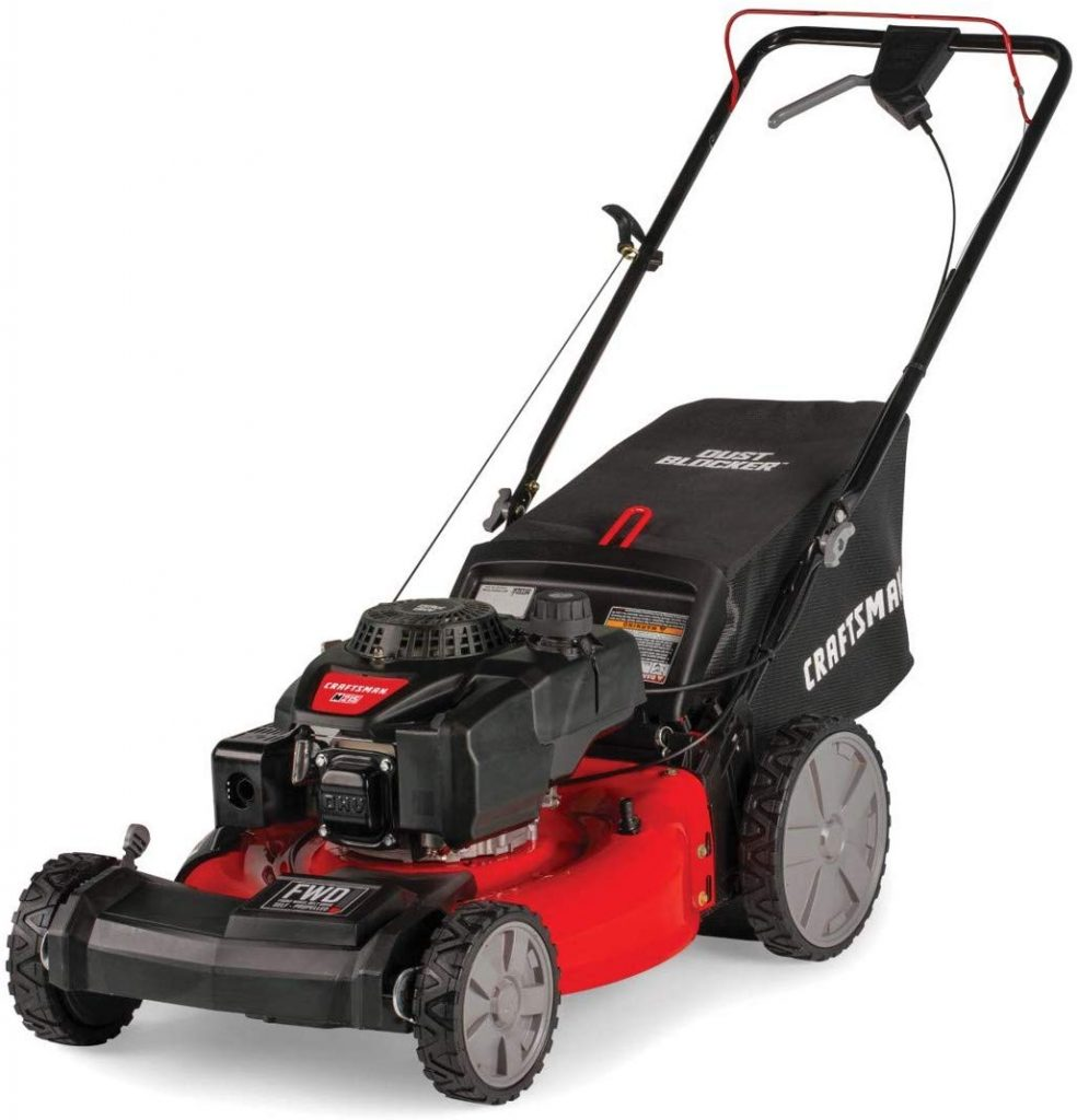 Craftsman Powered Lawn Mower with Bagger