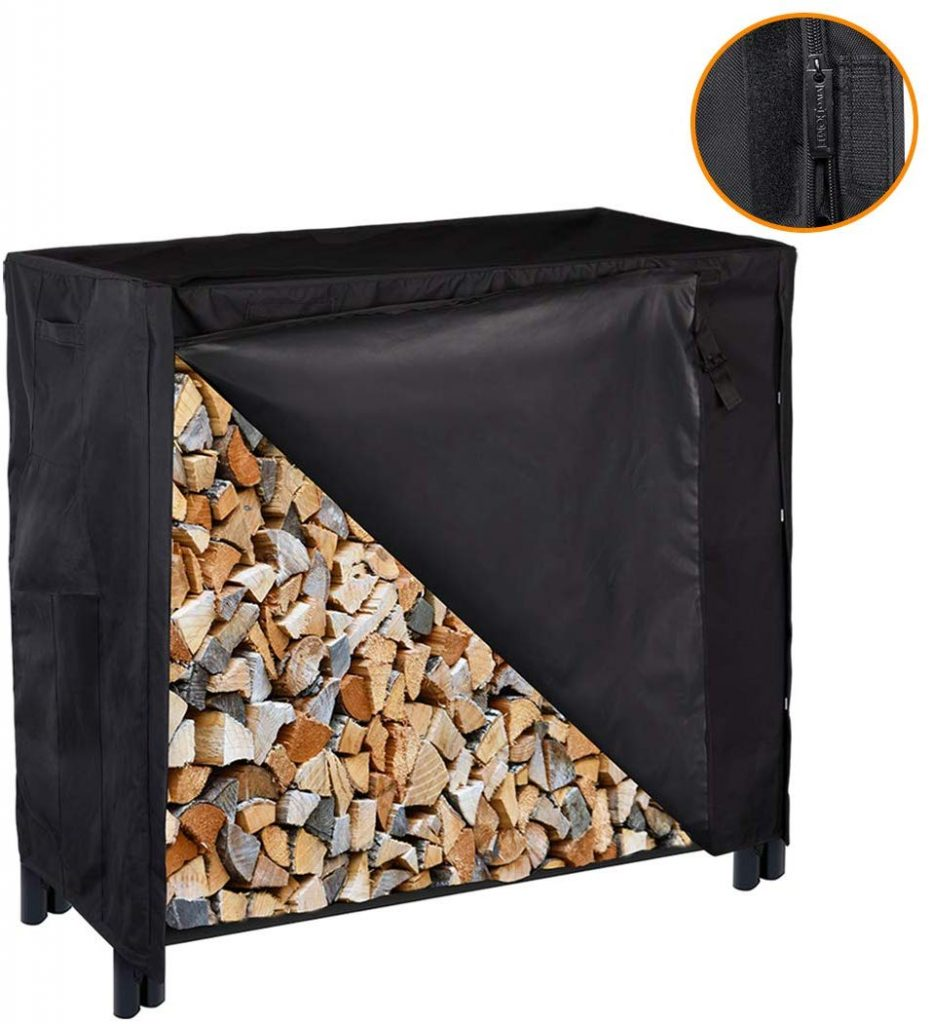 VIVOHOME Outdoor Firewood Storage Outdoor Firewood Racks