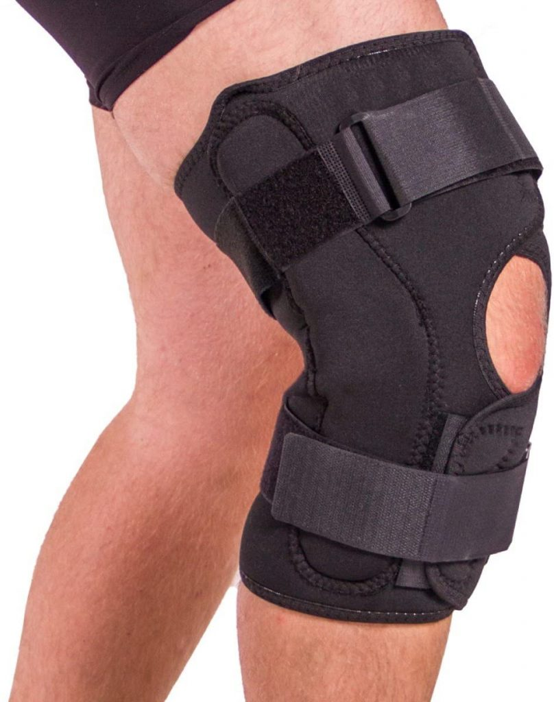 BraceAbility Obesity Knee Pain Brace Oversized