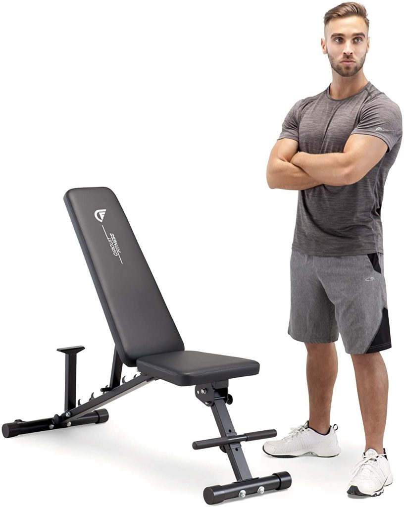 Circuit Fitness Adjustable Utility Weight Bench