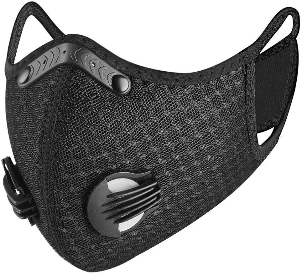 Dukars Sports Mask, Dustproof Mask Activated