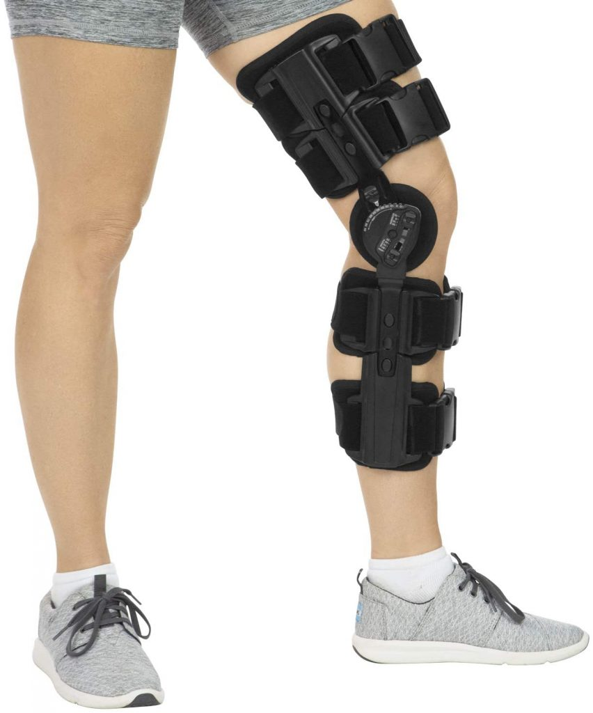 Vive ROM Knee Brace Hinged Immobilizer